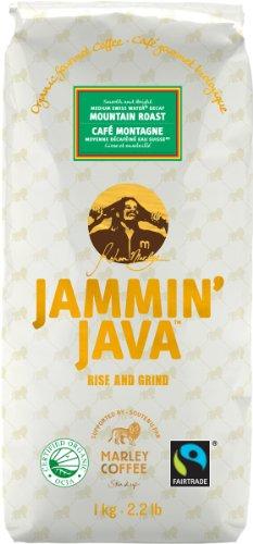 Jammin' Java Coffee Mountain Roast, Swiss Water Decaf, Organic Gourmet Whole Bean Coffee. Medium & Bright., 2.2-Pounds