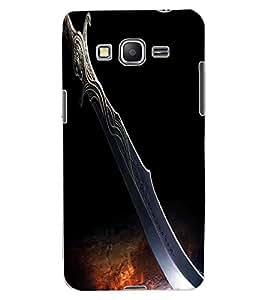 ColourCraft Amazing Blade Design Back Case Cover for SAMSUNG GALAXY GRAND PRIME DUOS TV G530BT