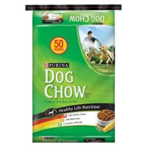 Purina dog chow 50 lbs dry pet food pet supplies for Purina game fish chow
