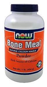 Now Foods Bone Meal, 16 Oz ( Multi-Pack)