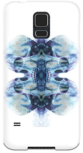 [Skull Mirror Effect Design Samsung Galaxy S5 Case Cover| Custom Printed Hard Plastic Case| Keep Your Valuable Galaxy S5 Shock & Dust Proof| Perfect Snug Fit| Custom Mobile Cases By Bang] (Master Chief Suit For Sale)