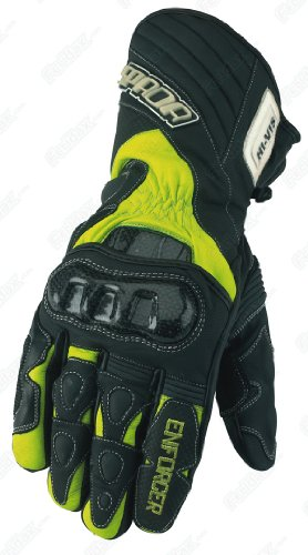 Spada Enforcer Waterproof Motorcycle HI-VIS Gloves XXL