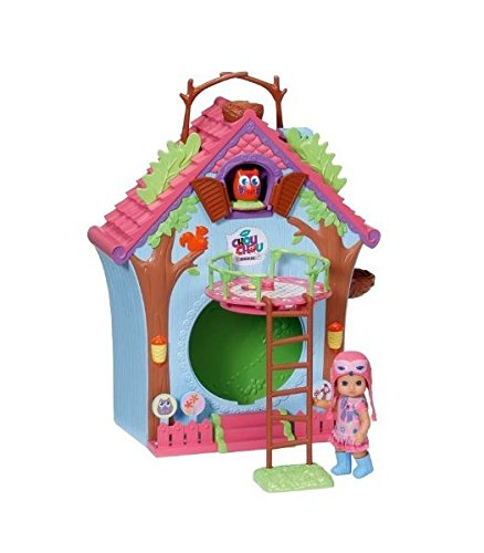 Mini Chou Chou – Cuckoo Clock House – Maison Coucou + Mini Poupée 12 cm