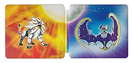 Pokemon Sun and Moon Steelbook Dual Pack - Nintendo 3DS (Amazon Exclusive)