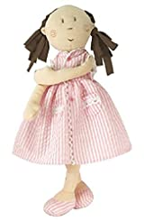 Mattie Cute Pink Ragdoll in pink Summer Dress - 13 inches