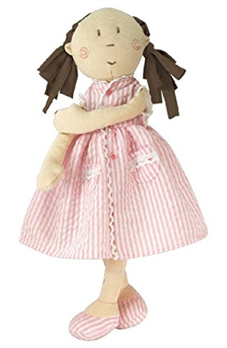 Mattie Cute Pink Ragdoll in pink Summer Dress - 13 inches - 1