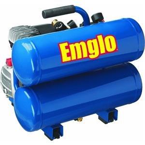 Best Price! Emglo E810-4V 4-Gallon Heavy-Duty Oil-Lube Stacked Tank Air Compressor