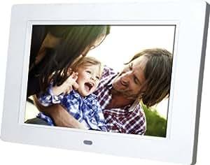 Rollei Pictureline 7000 Bilderrahmen (17,8 cm (7 Zoll) TFT-LED-Display, SD/SDHC/MMC-Kartenslot, USB 2.0) inkl. Fernbedienung weiß