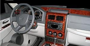 Jeep liberty interior wood dash trim kit set 2008 2009 2010 2011 2012 automotive for Jeep liberty interior accessories
