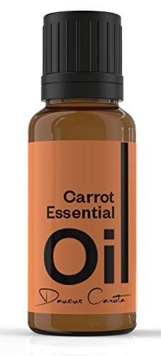 Cielune Carrot Seed Essential Oil - 100% Pure, Undiluted All Natural Premium Daucus Carota Oil - Therapeutic Grade for Alternative Medicine - Ideal for Skin Care, Hair Care, Aromatherapy & Massage - Satisfaction Guaranteed - 10ML