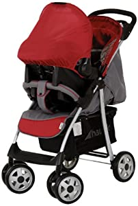 hauck Shopper Shop'n Drive Travel System (Smoke/Tango)