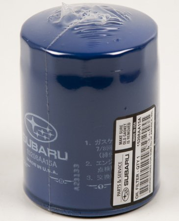 GENUINE SUBARU OIL FILTER -15208AA160/15208AA15A (Subaru Outback Oil Filter compare prices)