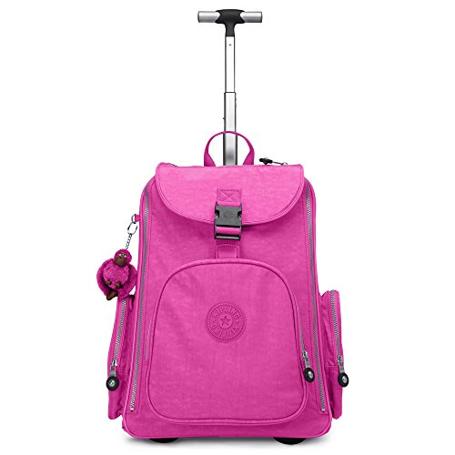 Kipling Alcatraz II Wheeled Backpack with Laptop Protection (Breezy Pink)