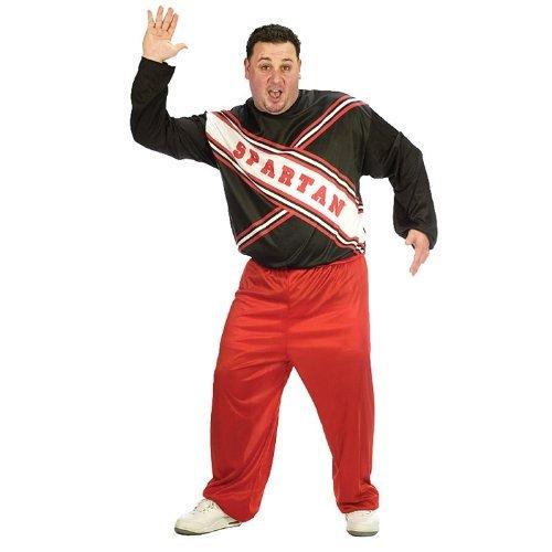[Spartan Cheerleader (SNL Saturday Night Live) Adult Men's One Size] (Will Ferrell Costumes Halloween)