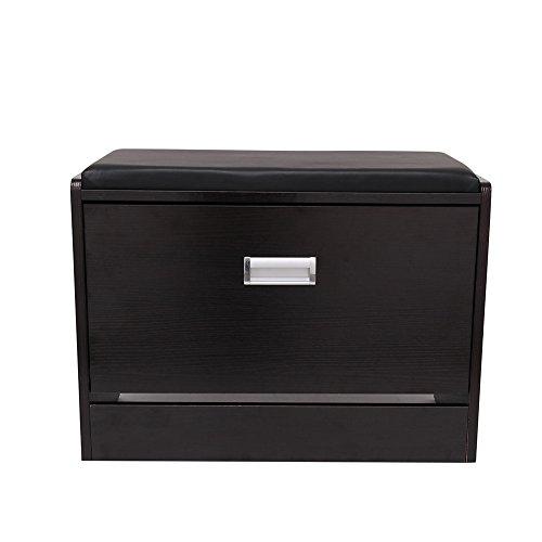 wooden-shoe-cabinet-closet-storage-rack-pu-seat-bench-ottoman-entryway-hallway