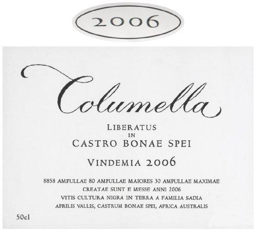 2006 Sadie Family Columella Swartland Red Blend 500 Ml