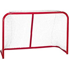 Buy EZGoal Hockey Folding Pro Goal, 2-Inch, Red White by EZGoal