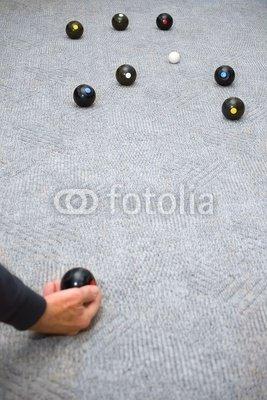 Wallmonkeys Peel and Stick Wall Decals - Carpet Bowls - 24