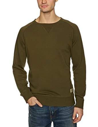 Jack & Jones Rugged Classic Men's Sweatshirt Olive Night Small