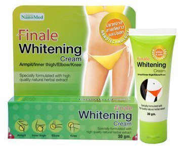 Finale Whitening Cream 30G. Armpit/Inner Thigh/Elbow/Knee. Specially Formulated From High Quality Natural Herbal Extract