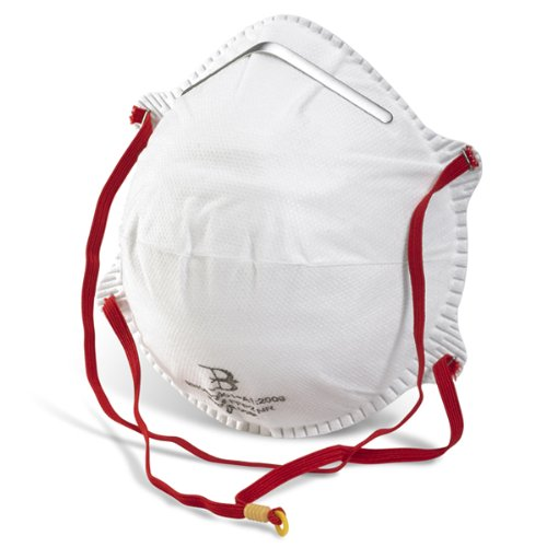 20 Pack Of FFP2 Respirator Face Masks- Ideal to filter Fine Dust & Oil & Water Based Spray - Comes with TCH Anti-Bacterial Pen!