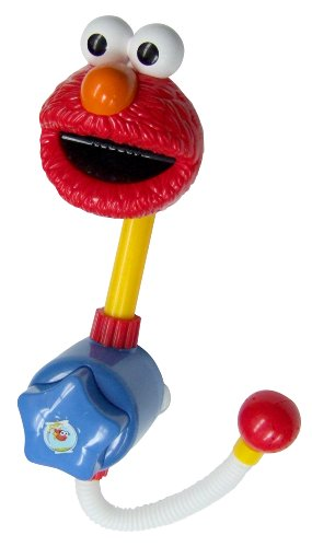 Sesame Street Elmo Shower Spray, Red - 1
