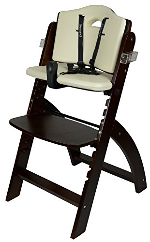 Abiie Beyond Wooden High Chair With Tray The Perfect