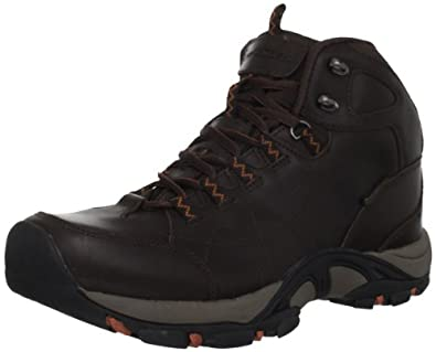 Mountrek Men's Bridge Crossing Mid Hiking Boot,Dark Brown,11 M US