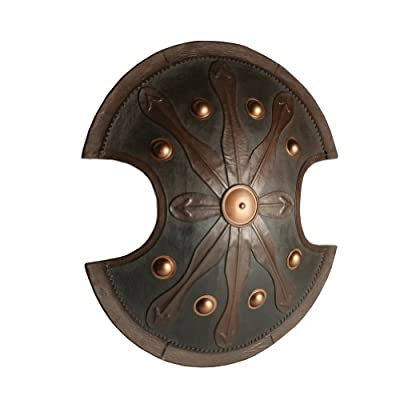 Armor Venue Trojan War Shield - Black - One Size Fit Most Armour