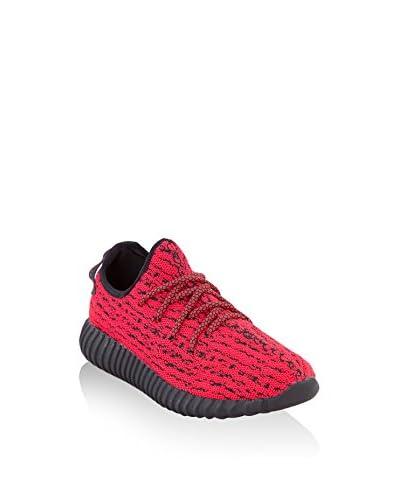 Footrepublic Zapatillas Run Rojo / Negro