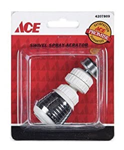 Ace Swivel Sprayer Aerator Fits Most Faucets Faucet