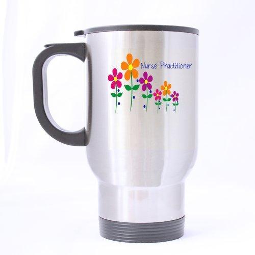Creative Design Nurse Practitioner Sliver Stainless Steel Material Mug