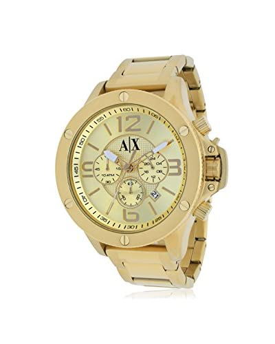 Armani Exchange Men's AX1504 Gold Stainless Steel Watch