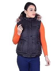 Montreal Women Jacket(Black,X-Large)