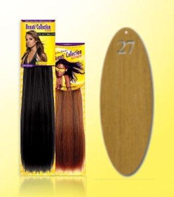 Beauti-Collection-Human-Hair-Weave-Yaki-Weave-18-27-Blonde-Size-18