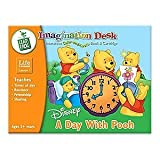 41oNUTyKaSL. SL160  Leap Frog Imagination Desk Interactive Color and Learn Book and Cartridge: Disneys A Day With Pooh