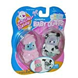 ZHU ZHU BABIES OUTFIT 2 PACK ROMPER AND DOG