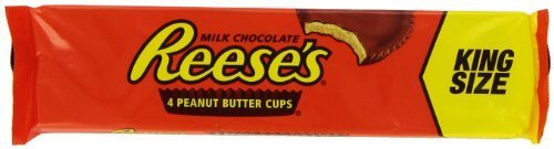 Reese Peanut Butter Cups King Size 2.8 Oz Packages (Pack Of 24) (2 Units Per Order)