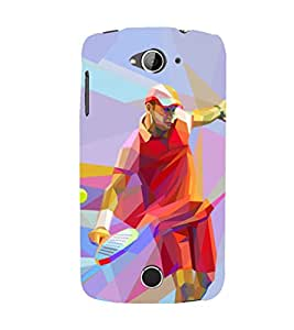 PRINTSHOPPII TENNIS SPORTS Back Case Cover for Acer Liquid Z530