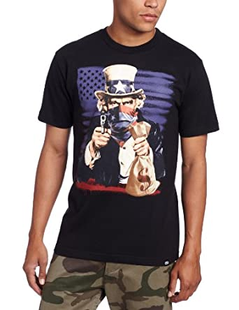 Ecko Unltd. Mens The Looter Graphic T-Shirt Black S