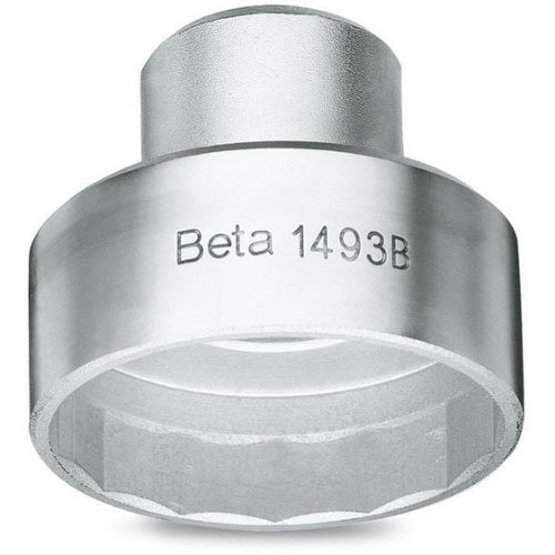 Beta 1493/B Oil and Diesel Oil Filter Wrench, Chrome-Plated, Polygonal Inner Profile