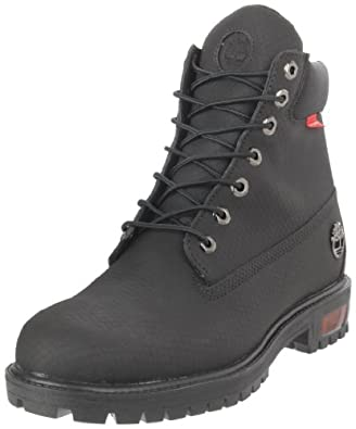 Timberland Men's 6-Inch Scuff Proof Lace-Up Boot,Black,7 M US