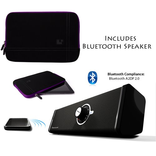 Mobile Carry On Travelling Soft Interior Bubble + Includes A Supertooth Disco Bluetooth Speaker