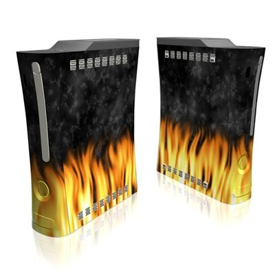 BBQ Design Xbox 360 Full Body Protector Skin Decal Sticker