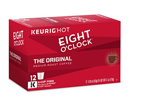 Eight O'Clock Coffee The Original, Keurig K-Cups, 12 Count, (Pack of 6)