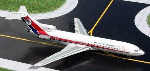1: 400 ジェミニジェット Dan Air ボーイング 707 / 727 Two Plane Set (並行輸入)