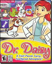 New THQ Dr Daisy Pet Vet Choose From 3 Power-Ups Diagnose 30 Animals W/ Unique & Humorous Maladies