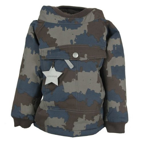 MINI A TURE Baby Wen Winterjacke dark shadow, Größe:74 cm