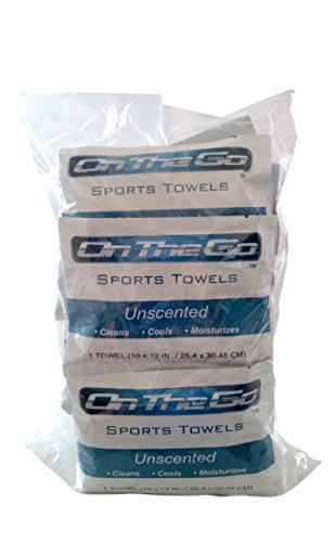 On The Go Towels Unscented Large Bath Wipes 25-Pack Bulk as seen (Waterless Shower compare prices)