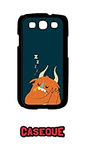 Caseque Life Goes ZZZZZ… Back Shell Case Cover for Samsung Galaxy S3